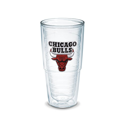 Tervis 1051528''NBA Chicago Bulls'' Tumbler, Emblem, 24 oz, Clear by Tervis