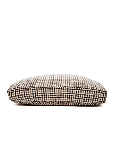Deluxe Brown Houndstooth with Piping Fitted Linens - Brown Hound - SM by B & G Martin
