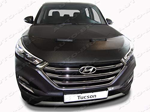Amazon.com: Hood Bra Front End Nose Mask for Hyundai Tucson Since 2015 Bonnet Bra STONEGUARD Protector Tuning: Automotive
