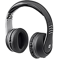 Monoprice Comfortable Over the Ear Active Noise Cancelling Headphone with 10dB Bass Boost In Line Play and Pause Controls 112231