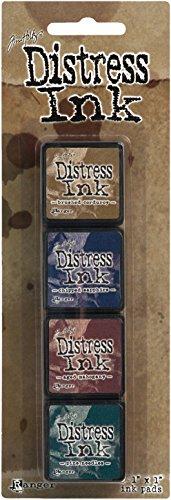 Ranger Distress Mini Ink Kit, 12