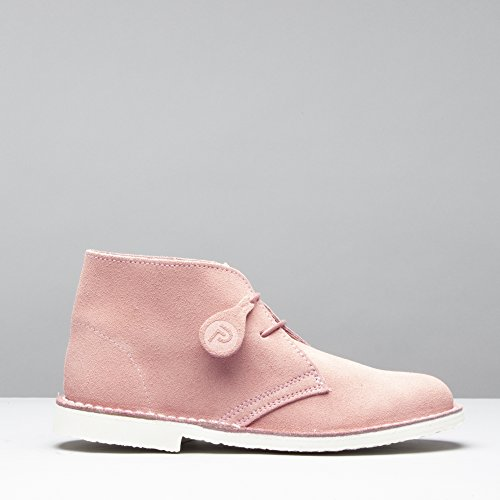 PASTEL Suede Casual Dusty Boots Desert Ladies Pink Popps wE86dE