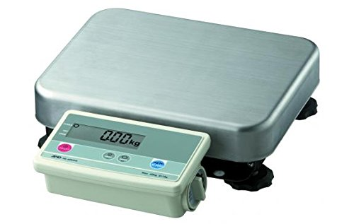 Low Profile Bench Scale - A&D Engineering FG-30KBM Bench Scale, Low Profile Model, Medium Pan, 30kg Capacity, NTEP Approved, 110V