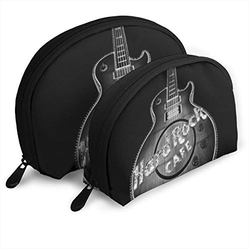 KHJFDNYF Hard Rock Cafe Las Vegas Portable Bags Clutch Pouch Coin Purse Cosmetic Travel Storage Bag One-Big and One-Small 2Pcs Stationery Pencil Multifunction Bag Child Wallet Key Case Handbag