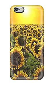 JVCFqqX12579XCUQL Snap On Case Cover Skin For Iphone 6 Plus(sunrise Sun Flowers Amp Digital)