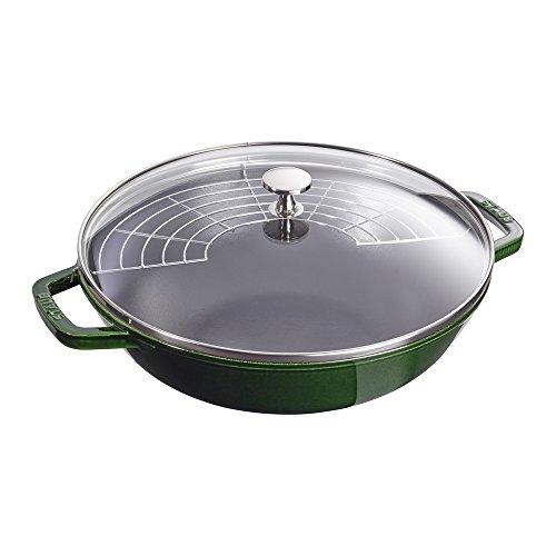 Staub Cast Iron 4.5-qt Perfect Pan - Basil