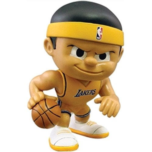 Los Angeles Lakers Official NBA Lil Teammates NBA Playmaker Series 2 Toy Figure by Party Animal Inc by Party Animal