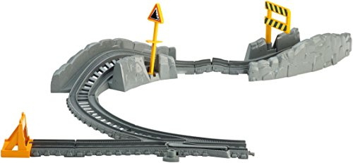 Fisher-Price Thomas & Friends TrackMaster, Hazard Tracks Expansion Pack (Train Track Plastic)