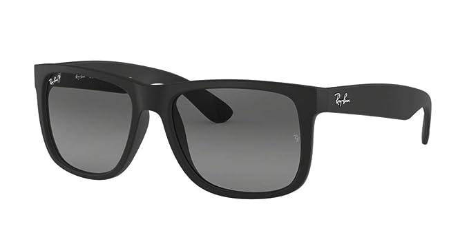 Amazon.com: Ray Ban anteojos de sol RB4165 Justin 622/T3 de ...