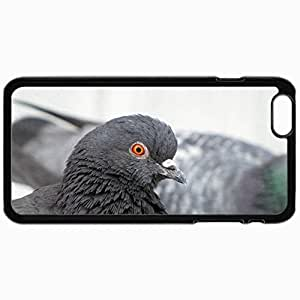Fashion Unique Design Protective Cellphone Back Cover Case For iPhone 6 Case Bird Black