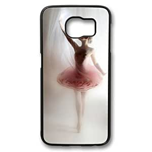 Beautiful Ballet Dancer Theme Samsung Galaxy S6 Case PC Material Black