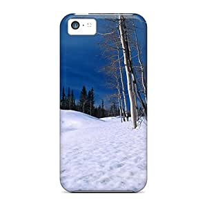Tough Iphone SkNfeyM3587ZTBvl Case Cover/ Case For Iphone 5c(elm Forest In Winter)