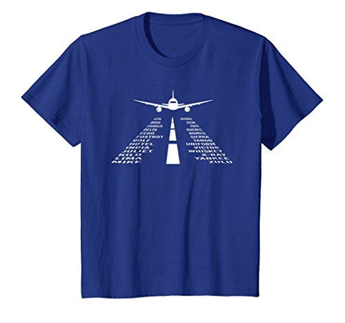 Phonetic Alphabet T-Shirt   Pilot Airplane Shirt