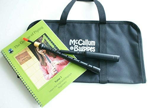 McCallum Bagpipe Junior Practice Chanter Starter Package Tutor Book and Case / McCallum Bagpipe Junior Practice Chanter Starter Package Tutor Book and Case