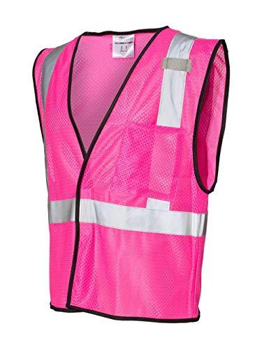 ML Kishigo Enhanced Visibility Mesh Vest 2XL/3XL Pink - B126