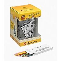 Tom&Jerry Boyanabilir Kalemlik - 6 Adet Kalem Hediyeli