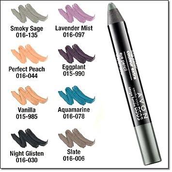 amazon com avon big color eye pencil crayon aquamarine eye
