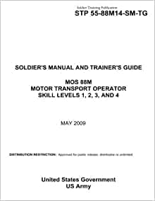 Soldier training publication stp 55 88m14 sm tg soldier 39 s for 88m motor transport operator
