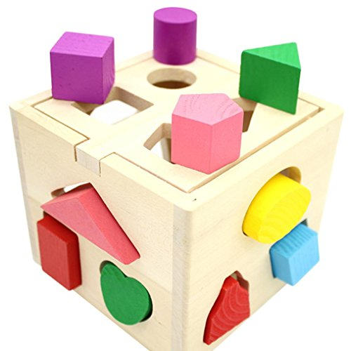 Toys for Baby, Pumsun 3D Kids Geometry Educational Toys Puzzles Toys by Pumsun