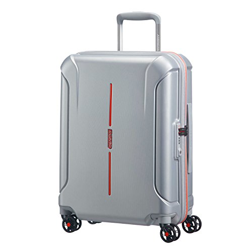 American Tourister Technum Spinner Hardside 20, Grey/Red