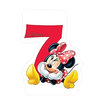 Partido Ênico Cafe Disney Minnie Mouse séptimo cumpleaños ...