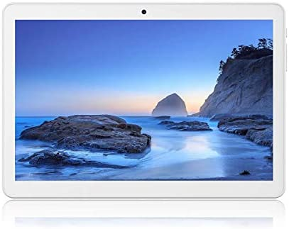 Tablet 10 inch Android 9.0 Pie (Google Certified),3G Unlocked Phablet with Dual sim Card Slots and Cameras,2+32GB Storage,6000Mah Battery,Tablet PC with WiFi,Bluetooth,GPS (Renewed)