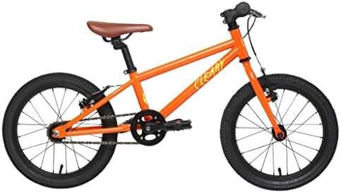 New Cleary Bikes 24 Inch Bike, Rigid Steel Fork, Lightweight, Meerkat (Multiple Colors)
