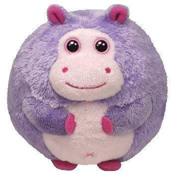 Ty Beanie Ballz Dewdrop The Hippo by TY Beanie Ballz