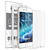 Purity Screen Protector for iPhone 8 7-3 Pack (w/Installation Frame) Tempered Glass Screen Protector Compatible with iPhone 8, iPhone 7 (3 Pack)