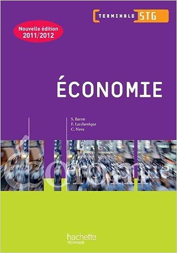 Livres gratuits Economie Term. STG - Livre élève - Ed.2011 pdf, epub
