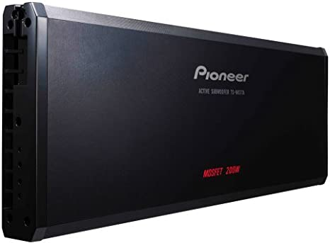 Pioneer TS-WX710A 200W Space Saving Flat Amplified Subwoofer