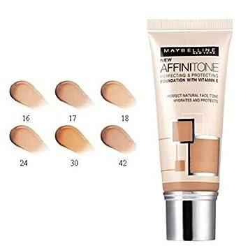 maybelline affinitone color chart cold tones: Amazon com maybelline affinitone unifying foundation cream