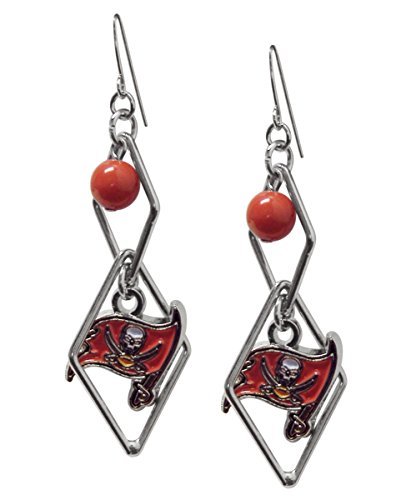 Pro Specialties Group NFL Tampa Bay Buccaneers Triangle Logo Dangler (Buccaneer Jewelry)