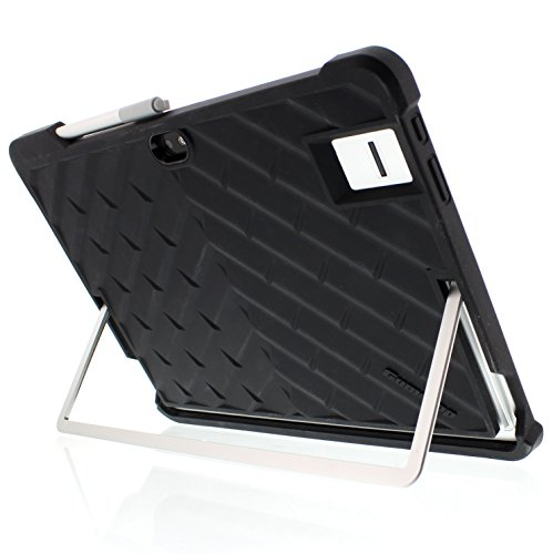 Gumdrop Cases Droptech Chromebook Case for HP Elite x2 1012 G1 M3‑6Y30 Rugged Shock Absorbing Cover Black/Black V5J72UT#ABA (Elite Tablet)