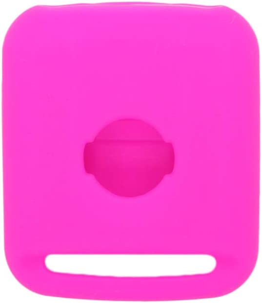 SEGADEN Silicone Cover Protector Case Skin Jacket Compatible with NISSAN 2 Button Remote Key Fob CV9502 Purple