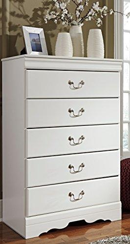 Ashley Furniture Signature Design - Anarasia Chest of Drawers - White
