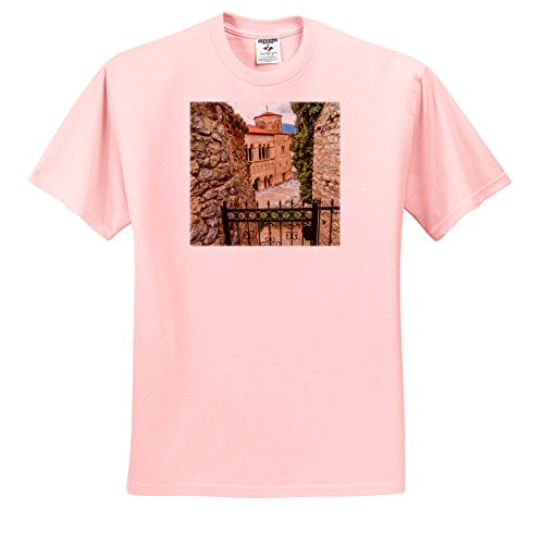 Danita Delimont - Churches - Macedonia, Ohrid and Lake Ohrid, Gate To ST. Sophia Cathedral. - T-Shirts - Light Pink Infant Lap-Shoulder Tee (24M) (TS_257964_73)