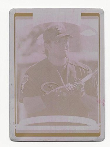 2006 Topps Chrome Magenta Printing Plate Johnny Estrada #222 1/1 (Magenta Printing Plate)