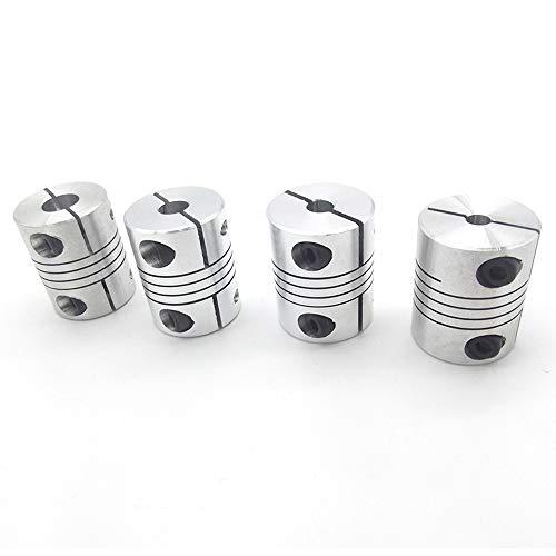 WNJ-Tool, Impresora 4PCS 8x8mm D25L30 Aluminio Z Eje Flexible ...