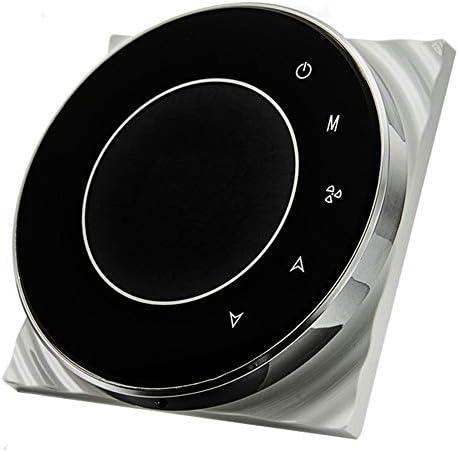 BECA 95 ~ 240VAC 16A Smart WIFI LCD Touchscreen Wireless Programmierbare Fu/ßbodenheizung Elektroheizung Thermostat BHT-6000GBLW Schwarz