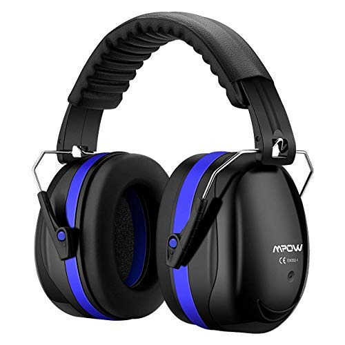 Mpow 035 Protective Earmuffs, Shooters Hearing Protection Ear Muffs, Adjustable Shooting Ear Muffs, NRR 28dB Professional Ear Defenders for Shooting Hunting Season, with a Carrying Bag