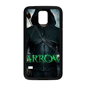 T-TGL(RQ) Samsung Galaxy S5 I9600 High-Quality Phone Case Green Arrow with Hard Shell Protection