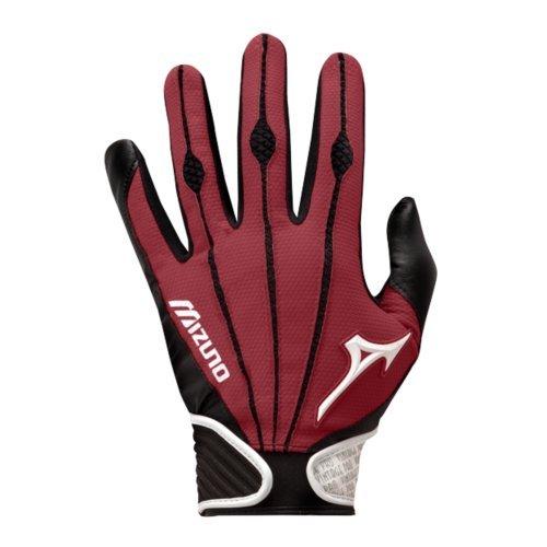 Mizuno Adult Vintage Pro Batting Gloves, Cardinal, X-Large