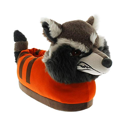 7710-3 - Rocket - Medium/Large - Happy Feet Mens and Womens Slippers