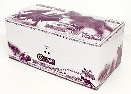 캡콤 피규어 빌더 몬스터 헌터 스탠다드 모델 Plus Vol.9 BOX상품 1BOX=6개 들이,전6종+보너스 파트