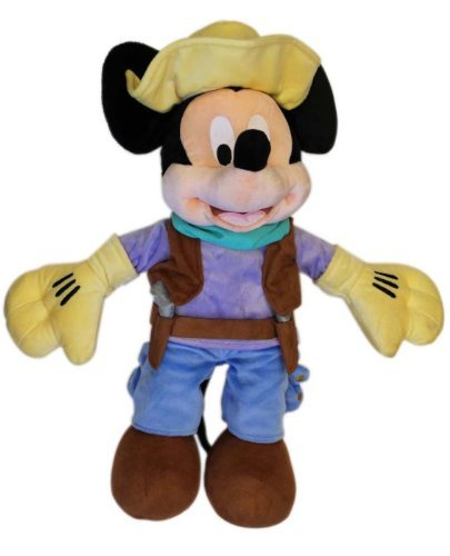 The Mickey Mouse Club: Talent Round-Up Day Mickey Mouse Plush Toy -- 17'' H -