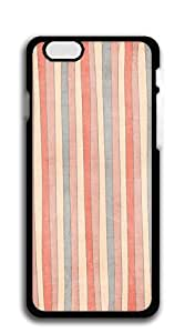 TUTU158600 Hard Snap on Phone Case iphone 6 cases - Pink muslin strips