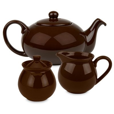 Waechtersbach Fun Factory Tea Set, Chocolate