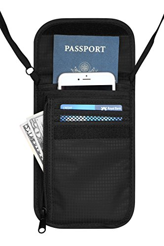 travelambo-neck-wallet-and-passport-holder-travel-wallet-with-rfid-blocking-for-security-black