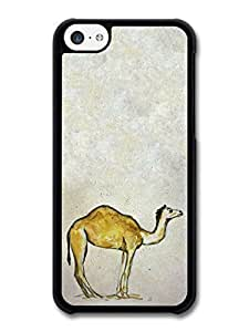AMAF ? Accessories Camel Watercolour Animal Wildlife Original Illustration case for iPhone 5C